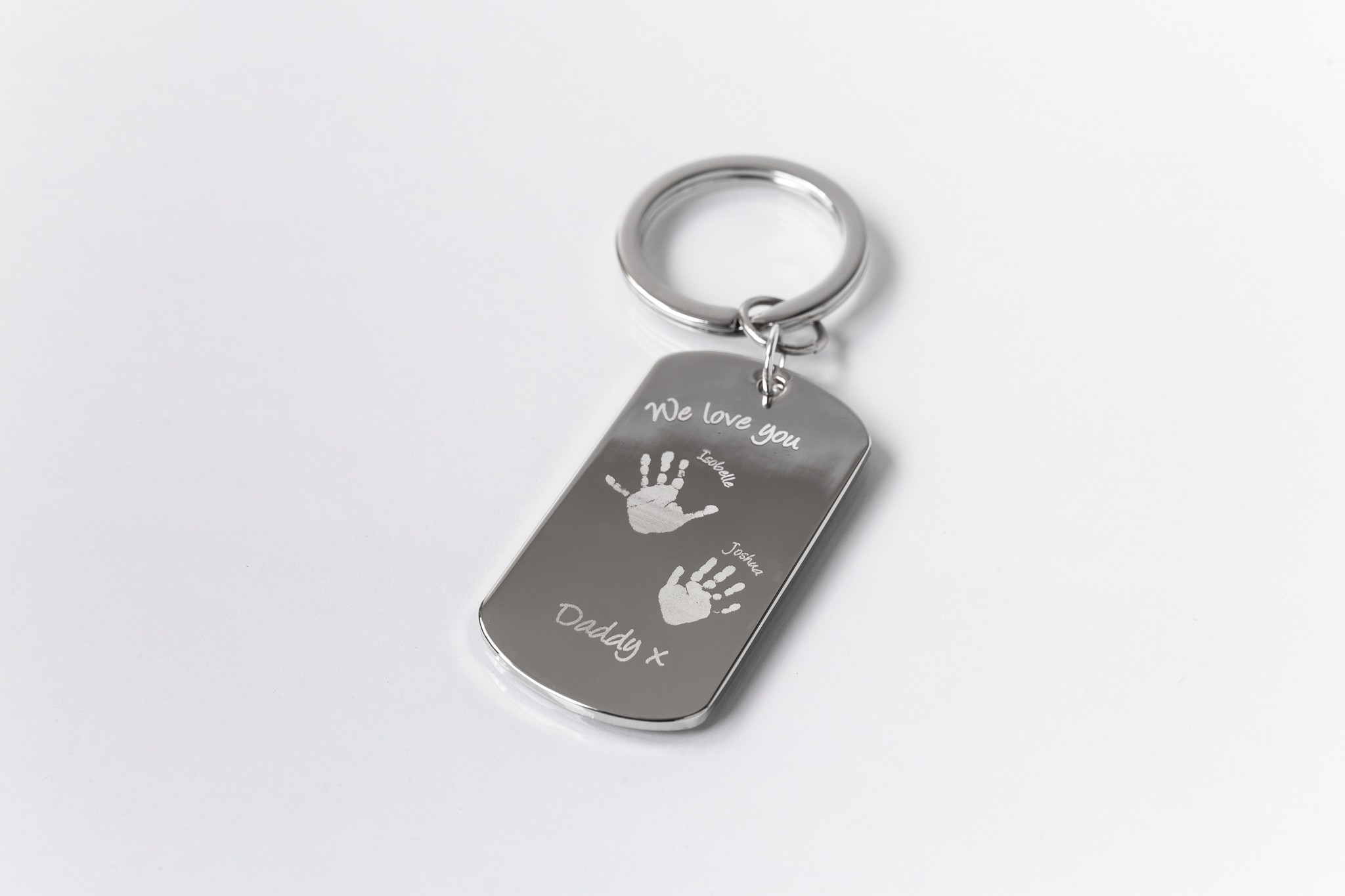 Medium Fingerprint Charm Impressive Memories