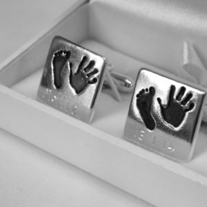 Miniprint Cuff Links Dad