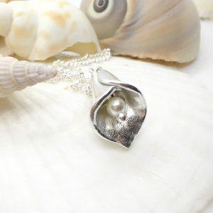 silver fingerprint lily