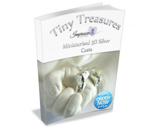 miniaturised 3d casts silver