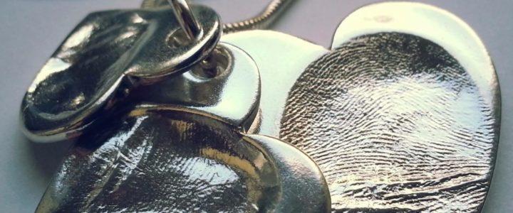 How to create a fingerprint impression for fingerprint jewellery