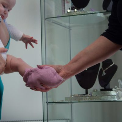 casting baby foot appointment