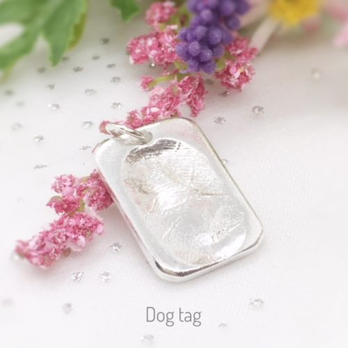 dog tag putty print
