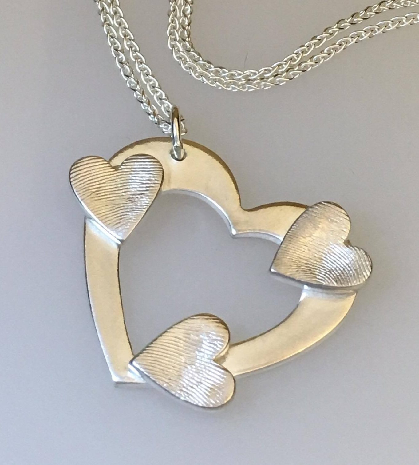Memorial fingerprint jewellery impressive memories fingerprint heart sonata solutioingenieria Gallery
