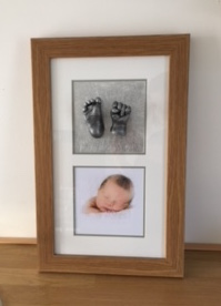 Reframing Baby Hand & Foot Casts 1