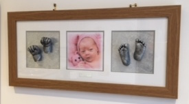 Reframing Baby Hand & Foot Casts 2
