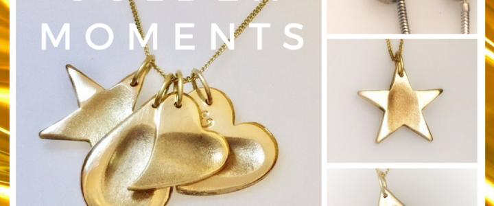 Fingerprint jewellery: Made in Gold