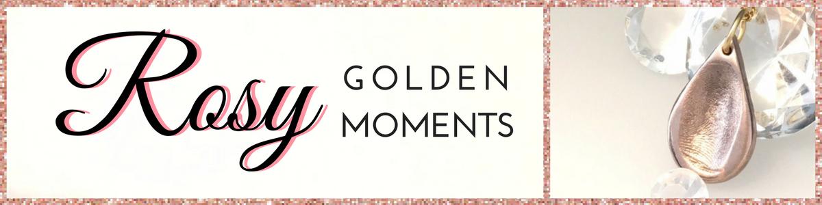 ROSY GOLD FIngerprint jewellery
