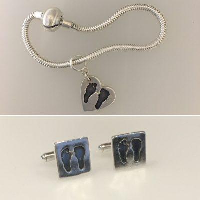 memorial miniprint silver jewellery