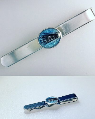 lock of hair tiepin