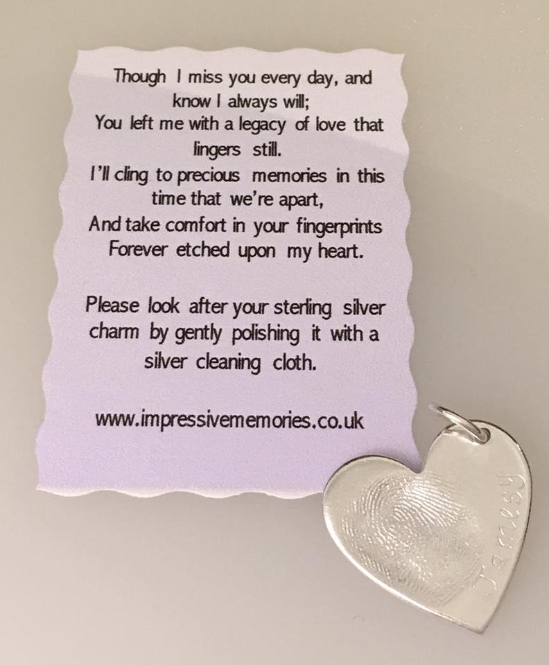 Customer Reviews of Memorial Jewellery 8