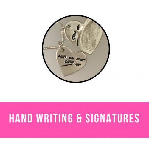 Memorial Hand Writing & Signature Jewellery