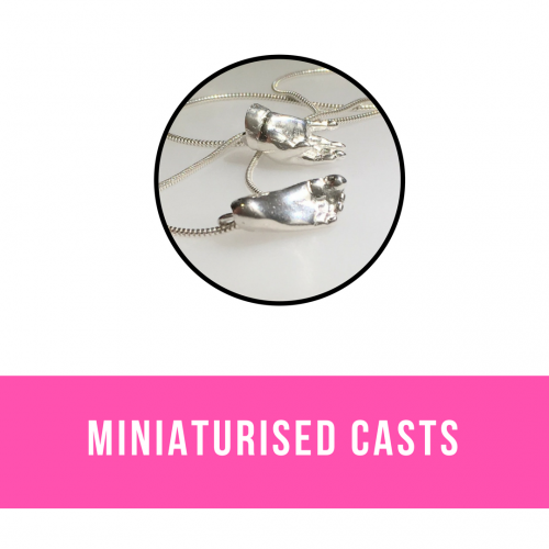 Miniaturised Silver Casts