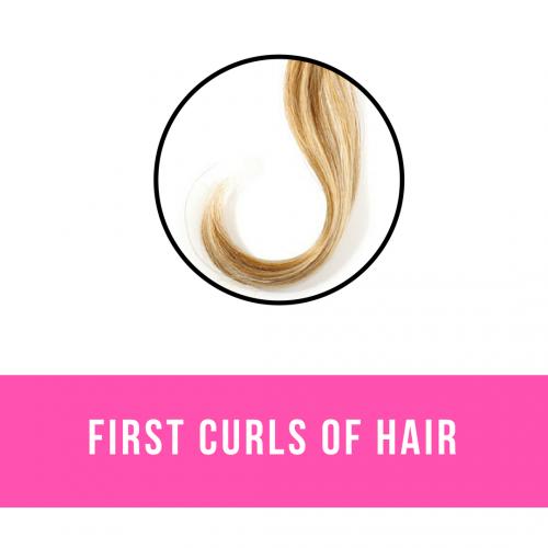 First Curls of Hair