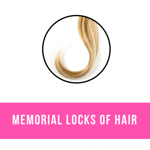 Memorial Locks of Hair Jewellery