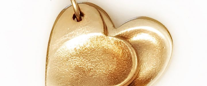 Gold Fingerprint Jewellery