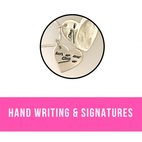 Signatures & Handwriting Jewellery