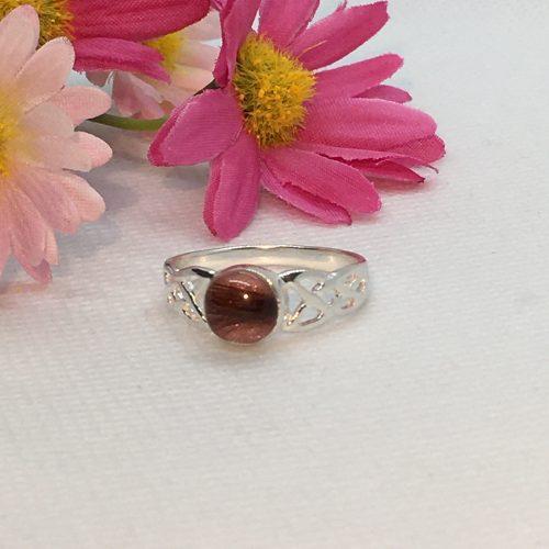 Pink Celtic Ring