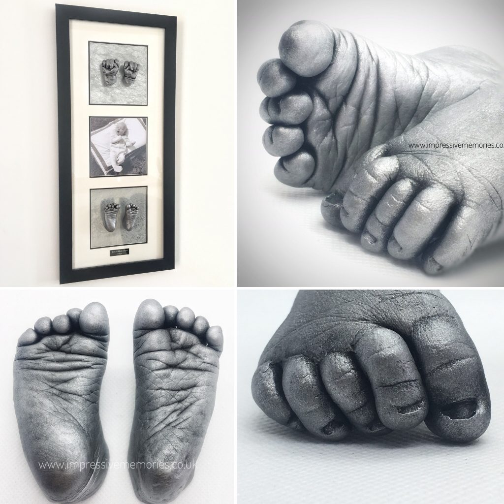 baby hand and foot castings glenrothes kirkcaldy fife