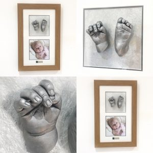 baby hand and foot casts