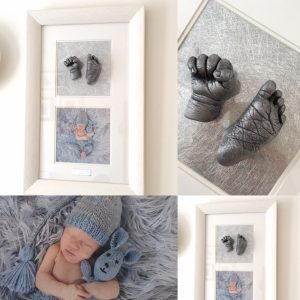 baby hand and foot casting