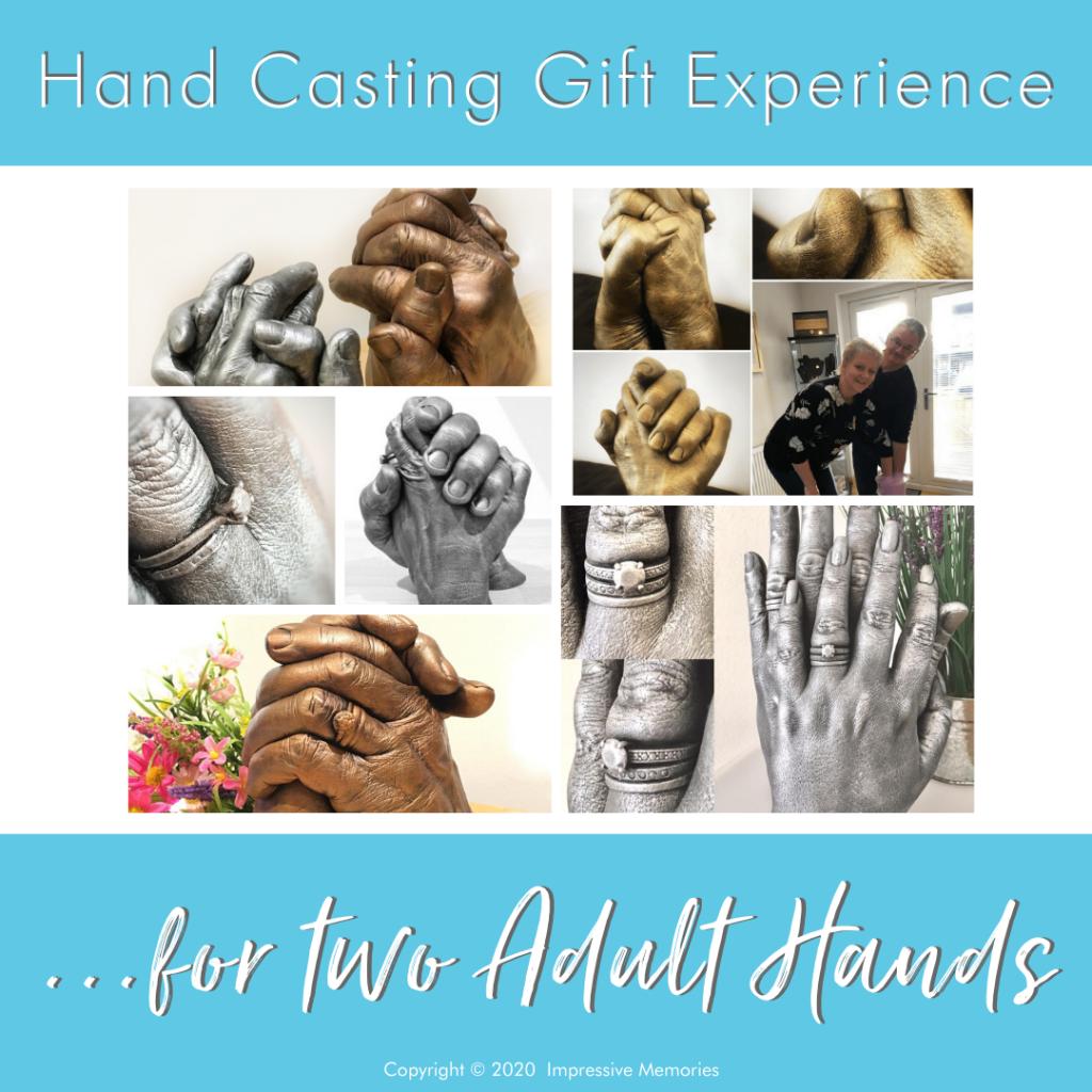 Life cast hand casting