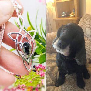 celtic lock of fur jewellery