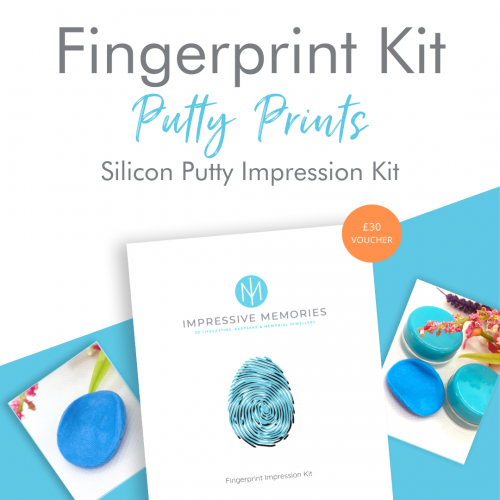 Putty fingerprint kit