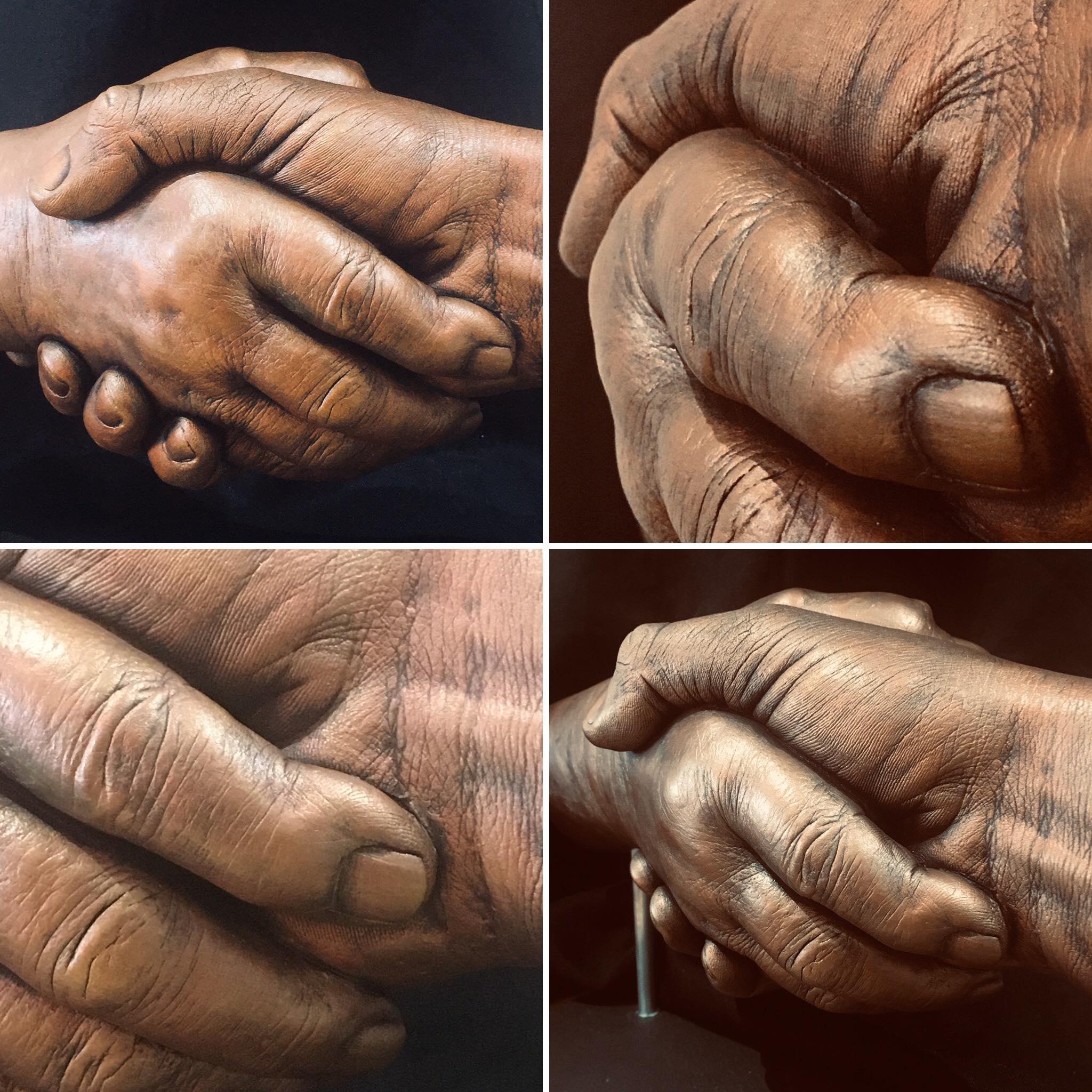 hand shake cast