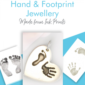handprint footprint jewellery