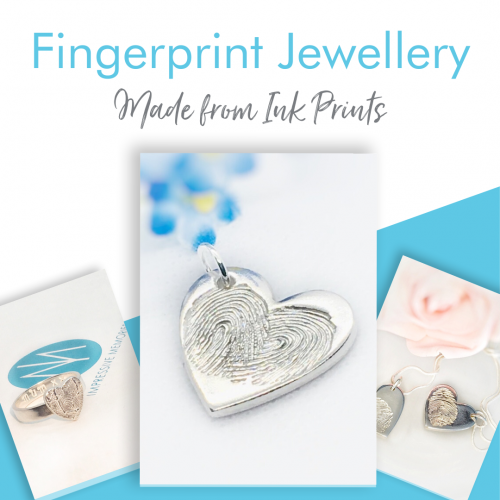 Ink Print Fingerprint Jewellery