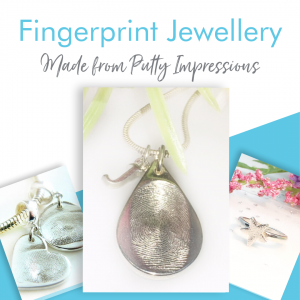fingerprint putty jewellery