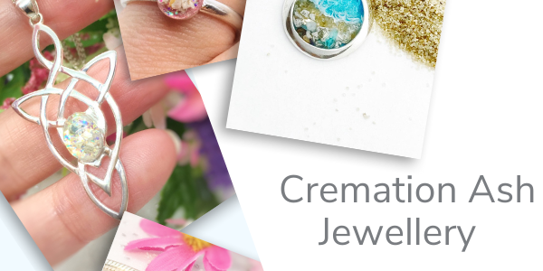 How to order handmade cremation ash jewellery