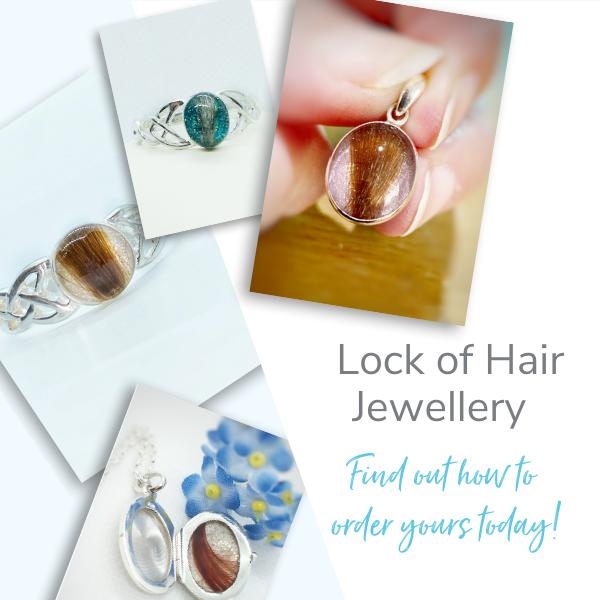 lock of hair jewellery