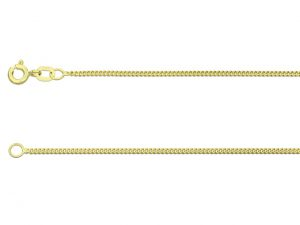 9ct gold Curb Chain 1