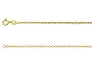 9ct gold Trace Chain 1