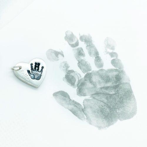 hand/foot ink print jewellery